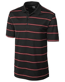Cutter & Buck MCK00675 Men Cb Drytec Embossed Tackle Polo at bigntallapparel