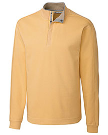 Cutter & Buck MCK00851 Men Fulltime Pima Snap Placket Overknit