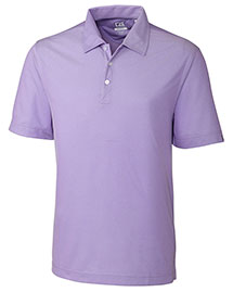 Cutter & Buck Mck00967 Men Cb Drytec Blaine Oxford Polo