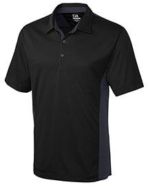 Cutter & Buck Mck00988 Men Cb Drytec Willows Colorblock Polo