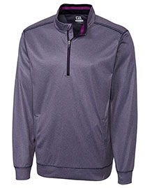 Cutter & Buck MCK01005 Men Nano Cb Drytec Decision Half Zip