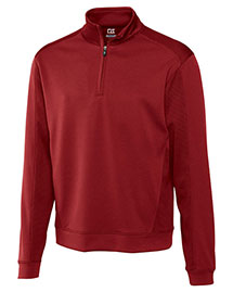 Cutter & Buck Mck08861 Men Cb Drytec Edge Half Zip