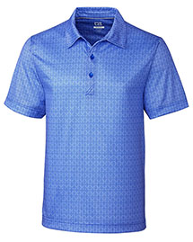 Cutter & Buck Mck09199 Men Beach Drive Print Polo