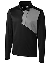 Cutter & Buck Mck09265 Men Shaw Hybrid Half Zip