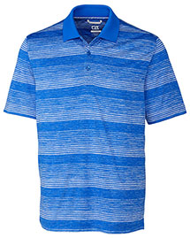 Cutter & Buck Mck09357  Metric Stripe Polo