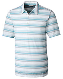 Cutter & Buck Mck09367  Courtyard Stripe Polo