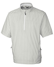 Cutter & Buck Mco00927 Men Cb Windtec S/S Ardent Half Zip