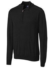 Cutter & Buck Mcs07725 Men Long Sleeve Douglas Half Zip Mock