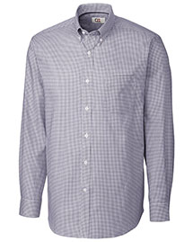 Cutter & Buck Mcw01891 Men Long Sleeve Epic Easy Care Tattersall