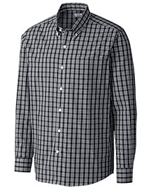 Cutter & Buck Mcw09480 Men Discovery Park Plaid L/S