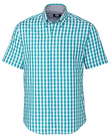 Cutter & Buck Mcw09539  S/S Wrinkle Free Los Rios Check