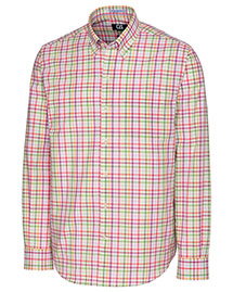 Cutter & Buck Mcw09557  Long Sleeve Wrinkle Free Laurel Grove Check