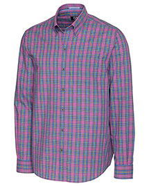 Cutter & Buck Mcw09559  Long Sleeve Chatham Plaid
