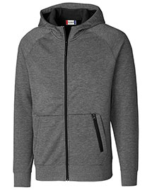 Clique/New Wave MQK00048 Men Lund Fleece Zip Hoodie at bigntallapparel