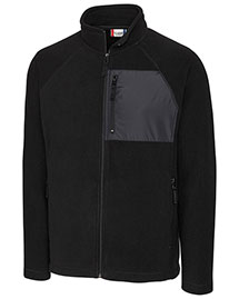 Clique/New Wave Mqo00057  Summit Microfleece Hybrid Full Zip