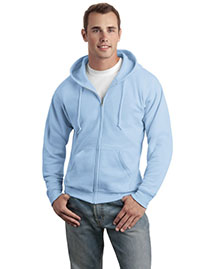 Hanes P180 Mens Comfortblend Full Zip Hooded Sweatshirt at bigntallapparel