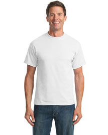 Port & Company PC55 50/50 Cotton Poly 55Ounce TShirt at bigntallapparel