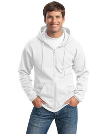 Port & Company PC90ZH Men Full Zip Hooded Sweatshirt