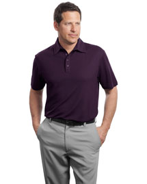 Red House Rh49 Men Contrast Stitch Performance Pique Polo