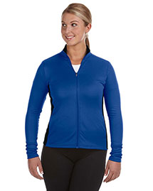 Champion S260 Women 5.4 Oz. Performance Colorblock Full-Zip Jacket