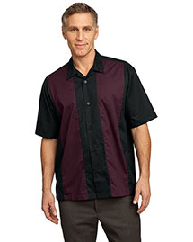 Port Authority S300 Mens Retro Camp Shirt at bigntallapparel