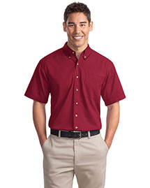Port Authority S500t Men Short Sleeve Twill Shirt