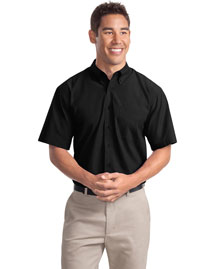 Port Authority S507 Men Short Sleeve Easy Care Soil Resistant Dress Shirt