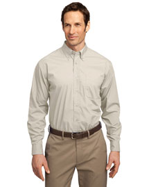 Port Authority S607 Men Long Sleeve Easy Care Soil Resistant Dress Shirt
