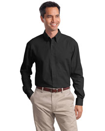 Port Authority Signature S632 Men Long Sleeve Value Poplin Shirt