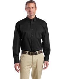 Cornerstone SP17 Men Long Sleeve Super Pro Twill Shirt at bigntallapparel