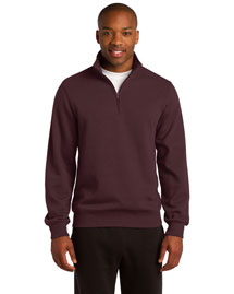 Sport-Tek TST253 Tall 1/4Zip Sweatshirt at bigntallapparel
