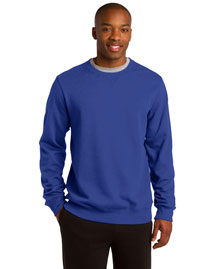 Sport-Tek ST266 Men Crewneck Sweatshirt at bigntallapparel