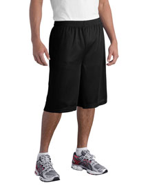 Sport-Tek ST511 Extra Long Posicharge Classic Mesh ™  Short at bigntallapparel