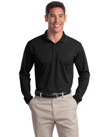 Sport-Tek St657 Men Long Sleeve Micropique  Wick  Sport Shirt