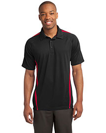 Sport-Tek ST685 Men Posicharge Micromesh? Colorblock Polo
