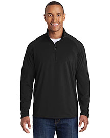 Sport-Tek ST850 Men Sport Wick Stretch 1/2 Zip Pullover