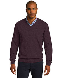 Port Authority Sw285 Men Vneck Sweater
