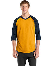 Sport-Tek T200 Men Colorblock Raglan Jersey at bigntallapparel