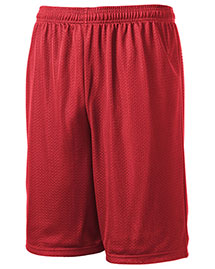 Sport-Tek T515 Men Long Mesh Shorts