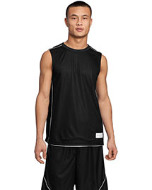 Sport-Tek T555 Posicharge Mesh™ Reversible Sleeveless Tee at bigntallapparel