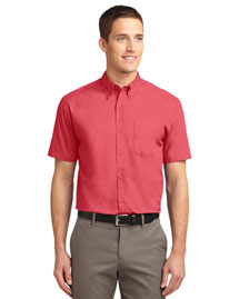 Port Authority TLS508 Men Tall Short Sleeve Easy Care Shirt