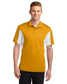 Sport-Tek TST655 Men Tall Side Blocked Micropique Sportwick Polo