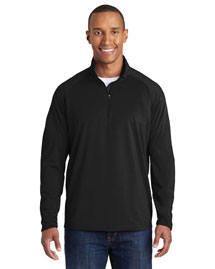 Sport-Tek Tst850 Men Tall Sportwick Stretch 1/2zip Pullover