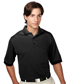 Mens 100% Polyester Knit Polo Shirts.