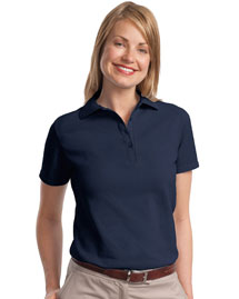 ComfortSoftLadies 7-Ounce Pique Knit Sport Shirt. 035X
