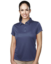 Tri-Mountain 036 Women's 100% Polyester Knit Polo Shirts at bigntallapparel