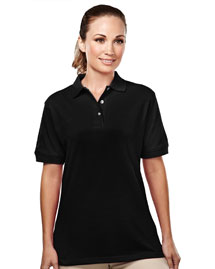 Tri-Mountain 092 Womens 60/40 easy care pique golf shirt. at bigntallapparel