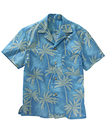 TROPICAL PALM CAMP SHIRT