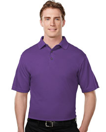 Tri-Mountain 108 Mens Micromesh Polo Golf Shirt at bigntallapparel