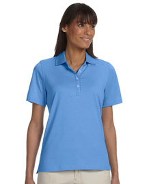 Ashworth 1147C Ladies' High Twist Cotton Tech Polo at bigntallapparel